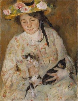 Lovis Corinth (1858 - 1925) Corinth's Ehefrau Charlotte