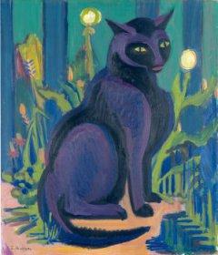 Ernst Ludwig Kirchner (1880 - 1938) Kater Bobby