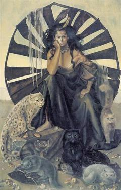 Leonor Fini (1907 - 1996) Argentine painter