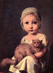 Louis-Léopold Boilly (1761 - 1845) Gabrielle Arnaud als Kind