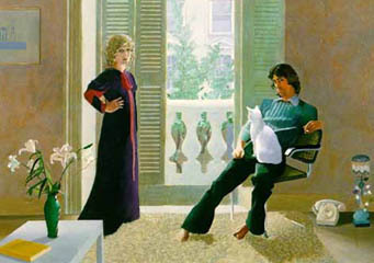 David Hockney / Mr and Mrs Clark and Percy