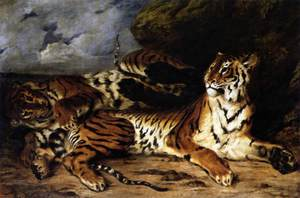 Eugène Delacroix (1798 - 1863) French painter