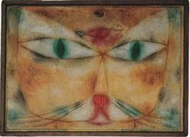 Paul Klee (1897 - 1940) Katze und Vogel