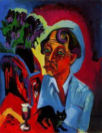 Ernst Ludwig Kirchner (1880 - 1938) German painter