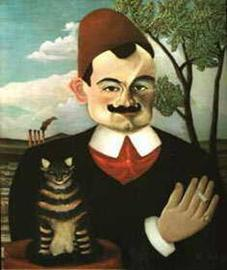 Henri Rousseau (1844 - 1910) Portrait des Schriftsteller Pierre Loti