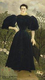 seau (1844 - 1910) Portrait de Madame M.